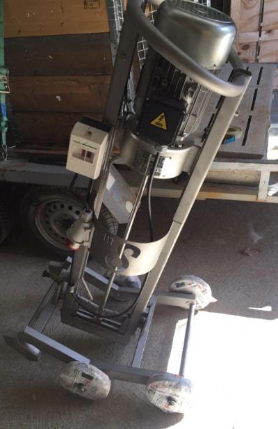 batidor agitador eléctrico basculante para purines