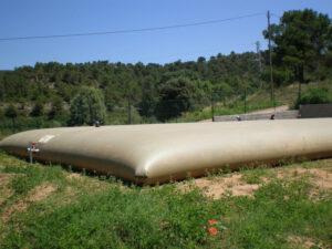 deposito flexible aguas residuales